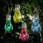 Solar Rotatable Outdoor Garden LED Light Camping Hanging Lamp Bulb Eco-friendly