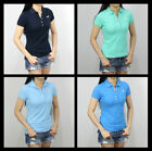 New Hollister HCO by Abercrombie Women Polo Shirt casual size XS S M L
