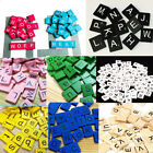 Scrabble Tiles Wooden 100 Letters Full Size for Art & Crafts Scrapbook Game