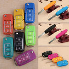 3 Buttons Remote Key Case Fob Shell Fit for VW Bora Beetle Golf Polo Passat