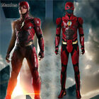 leather costume cosplay superhero red jumpsuit mask