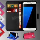 Case Cover For Samsung Galaxy S7 Edge Mgnetic Flip Leather Wallet Card Holder
