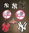 MLB NEW YORK YANKEES Baseball **NEW** Iron on Patch *Choice of Style* LAST ONES on Ebay