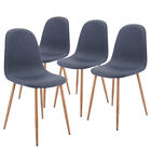 Dining Chairs, Set of 4 Mid Century Modern Side Eames-style Chairs Side Chairs