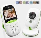 Wireless Baby Monitor 2 Inch Electronic Babysitter Nanny Security Two Way Audio