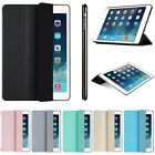 Slim Leather Stand Smart Hard Back Cover Case For Ipad 2 3 4 5 6 7 Air Mini Pro