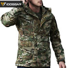 IDOGEAR M65 Airsoft Waterproof Jacket Clothes Soft Shell Casual Cycling Coat BK