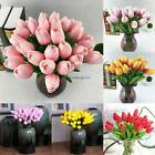 Fashion Artificial False Tulip Fake Flowers Bouquet Living Room Wedding NC89