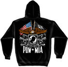 All Gave Some Some Gave All POW *MIA Patriotic Hooded Sweatshirt