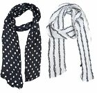 Women Skinny Scarf Satin Long Slim Scrunchie Thin Fashion Ladies Scarves