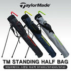 TAYLORMADE 3 Color Stand Half Golf Bag Light Tour Carry Cart Caddy Authentic