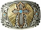 Ariat Mens Accessories Nocona Crumrine Winged Cross Buckle- Pick SZ/Color.