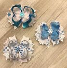 Snowflake Boutique Hair Bow