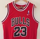 Michael Jordan Chicago Bulls Replica Throwback Stitched Jersey Mens Sizes S XL