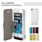 4200mAh External Battery Charger Backup Case Cover Power Bank for iPhone 5 Serie