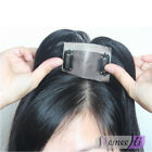USA fast shipping human hair topper replacement clip in hairpiece for women