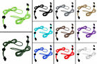 Easy No-tie Color Elastic Stretch Bungee Cord Shoelaces Strings Laces Buckle