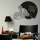 American Football Helmet Art Wall Sticker / Decal Transfer / Graphic Stencil X69