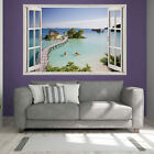 Beautiful Pier Paradise Printed Wall Sticker Giant Transfer Big Picture pr12