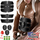 US Xmas Smart Abs Stimulator Fitness Training Gear Abs Fit Abdominal toning belt image