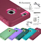 For Apple iPhone 6 6S Plus Protective Hybrid Shockproof Rubber...