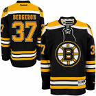 Patrice Bergeron Boston Bruins Black Home Jersey L XL