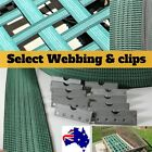 Elastic Furniture Webbing Seat Upholstery VG450 50mm wide Web Clips 1,5,10 metre