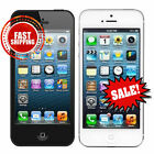 Apple iPhone 5 16GB 32GB 64GB - Black or White - AT&T or Cricket - Mint to Poor