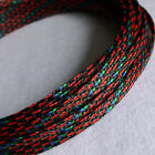 Color Expandable Braided DENSE PET Sleeving Cable High Densely Audio Diy F0 CY