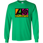Atlantic Records, Music Label, Record Company Long Sleeve T-Shirt