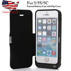 4200aAh Battery Case Backup Power Bank Charger Charging Cover for iPhone 5/5s/5c