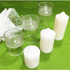 Внешний вид - Round Shape Clear Candle Mold for DIY Candle Making, Soap Making and Baking