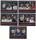 2000 Topps Chrome Prospects Subset Single Cards #202-208,  441-448 PROS Rookie RC