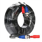 SANNCE 100ft 30m CCTV Security Camera BNC RCA Video Power Extension Cable Wire