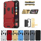 iPhone6 6S 7 8 Plus X Case Hybrid Stand Heavy Duty Hard Rugged Cover Ultra Thin