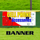 shop mobile cell phone - Cell Phone Accessories Mobile Shop Business Advertising Vinyl Banner Sign