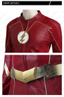 Barry Allen Costume The Flash Season 4 Cosplay New Year Fancy Dress Men Outfit