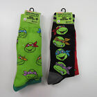 Nickelodeon TMNT Teenage Mutant Ninja Turtles Socks, 2 pairs