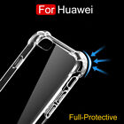 Protective Clear Silicone Shockproof Case Cover For Huawei P8 P9 P10 Mate 9 Pro
