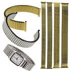 Stretch Expansion Stainless Steel Watch Band Strap Bracelet 12 14 16 18mm Fad