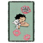 "Betty Boop ""Goodnight Kiss"" Dye Sublimation Blanket/Throw $42.07 CAD"