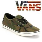 VANS – MENS CASUAL PLIMSOLLS TRAINERS WITH A CAMOUFLAGE PATTERN NEW WITH BOX