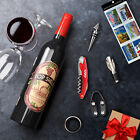 Kato Deluxe Wine Accessory Gift Set with Wine Bottle Corkscrew Opener-Stopper HV