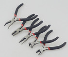 mini long nose pliers - Mini Long Pliers Hand Tools Kit Jewelry Round Nose Making Beading Wire Cutter