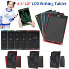 8.5/12'' Electronic Digital LCD Writing Tablet Pad Graphic Drawing Memo Board