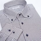 Rare colors men's Button-down shirts Long sleeve   Twill 100% cotton Easy care