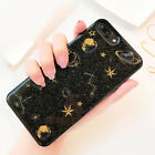 Fashion Glitter Space planet Soft Silicon phone Case Cover for iphone 8 7 6sPlus
