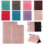 Smart Sun Embossed Case PU Leather Folio Stand Cover for Samsung Tab A 8.0 T350