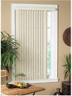 Vertical  PVC Alabaster Home Textured Light-Filtering Contemporary Window Blind