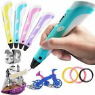 3D Printing Drawing Pen Crafting Modeling ABS/PLA Filament Arts Printer Tool Gif